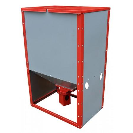Бункер для пеллет ProTech БП-0,6 литров вид в проекции